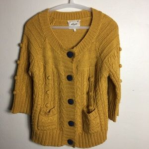 Sweet by Miss Me Chunky Cardigan Size Med